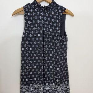 Black and White Speechless XS Sleeveless dress